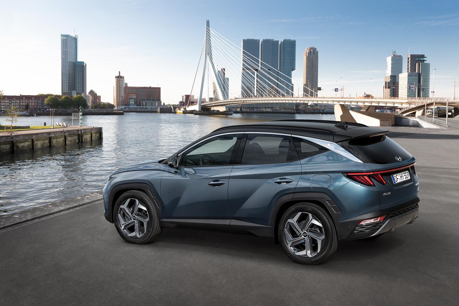 esterni nuova Hyundai Tucson