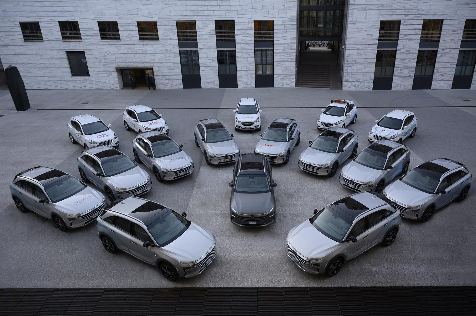 flotta Hyundai Nexo