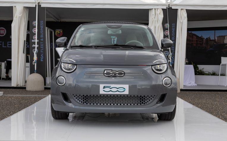 nuova Fiat 500 elettrica Fleet Motor Day 2020