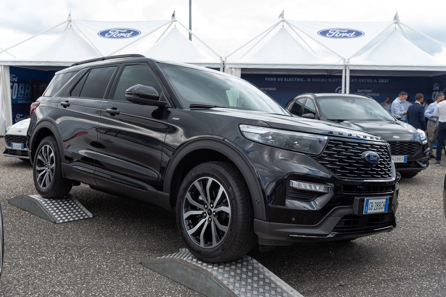 nuova Ford Explorer Fleet Motor Day 2020