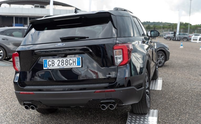 nuova Ford Explorer Vallelunga