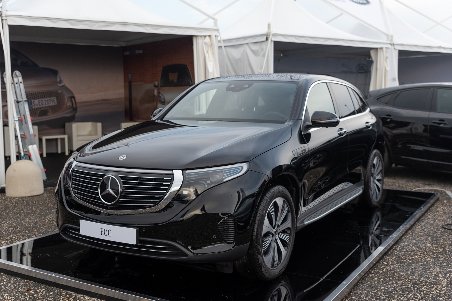 nuova Mercedes EQC Fleet Motor Day 2020