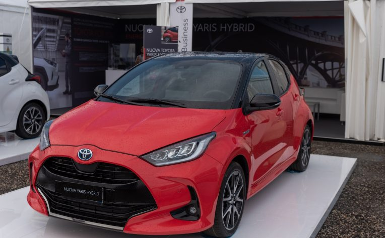 nuova Toyota Yaris Fleet Motor Day 2020
