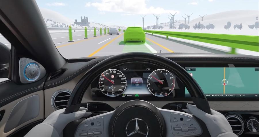 Adas Highway Assist Mercedes