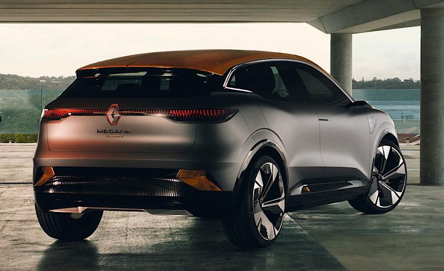 Autonomia di Renault Megane eVision