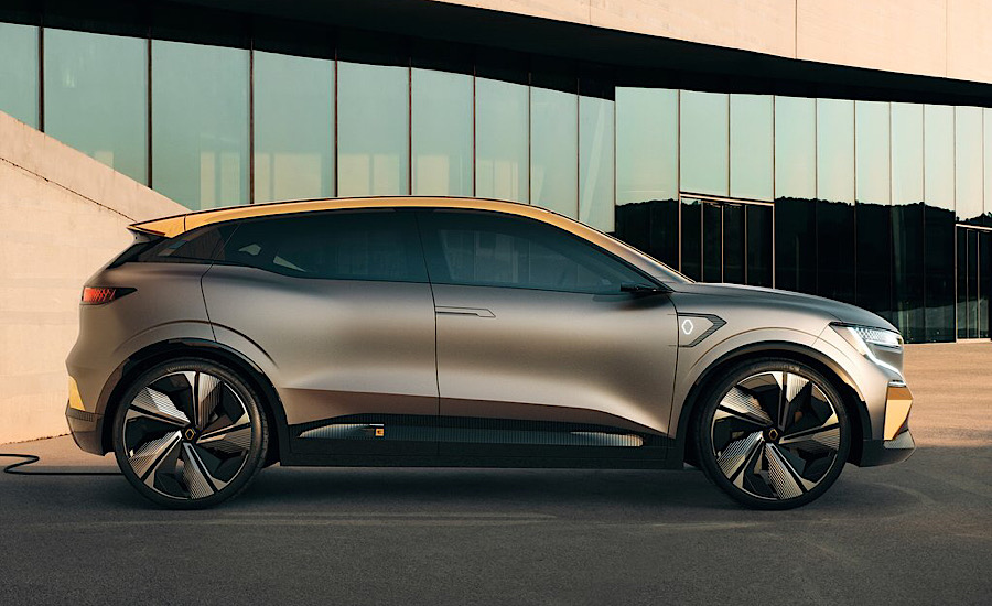 Dimensioni di Renault Megane eVision elettrica