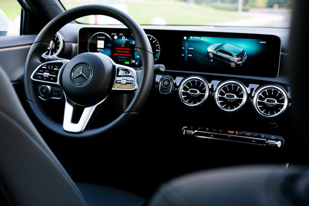 Mercedes Classe A Plancia