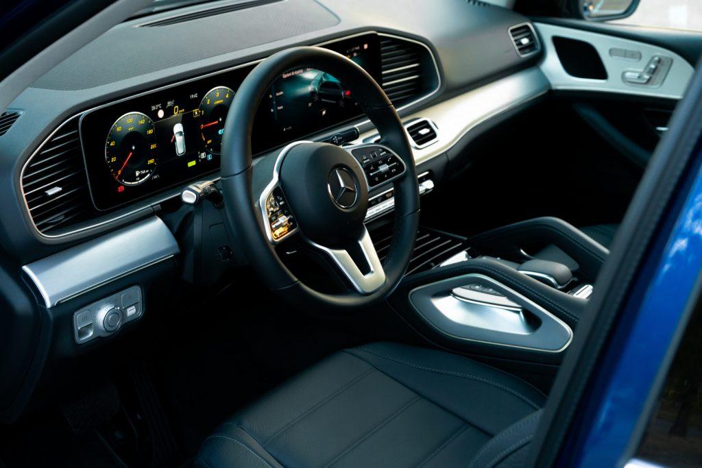 Mercedes GLE 350 plancia