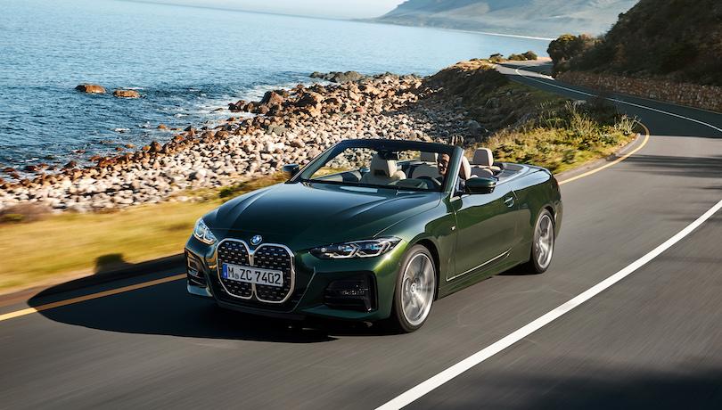 Nuova BMW Serie 4 cabrio 2021