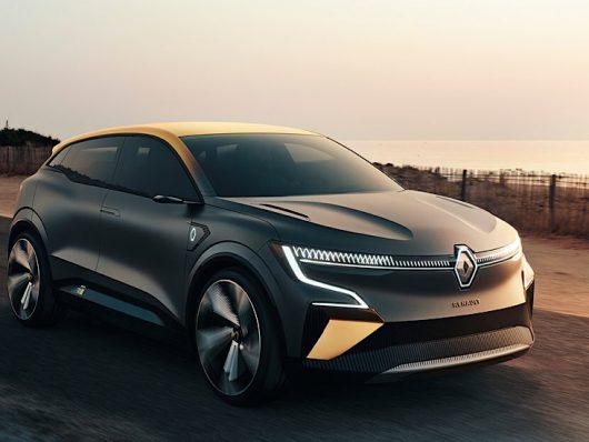 Renault Megane eVision 2021 concept