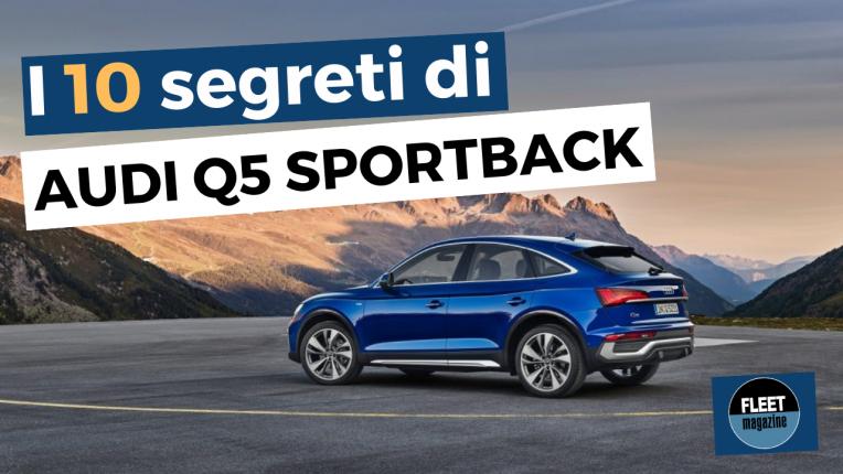 audi q5 sportback - 10 segreti - cover