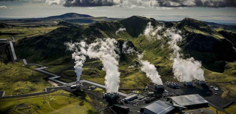Impianto islandese trasforma co2 in roccia