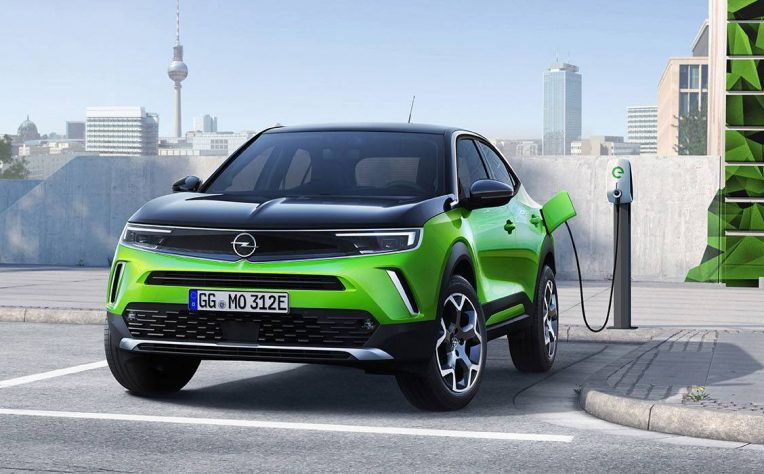nuova Opel Mokka elettrica noleggio a lungo termine