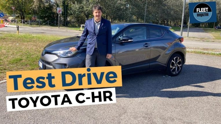 nuovo Toyota C-HR test drive