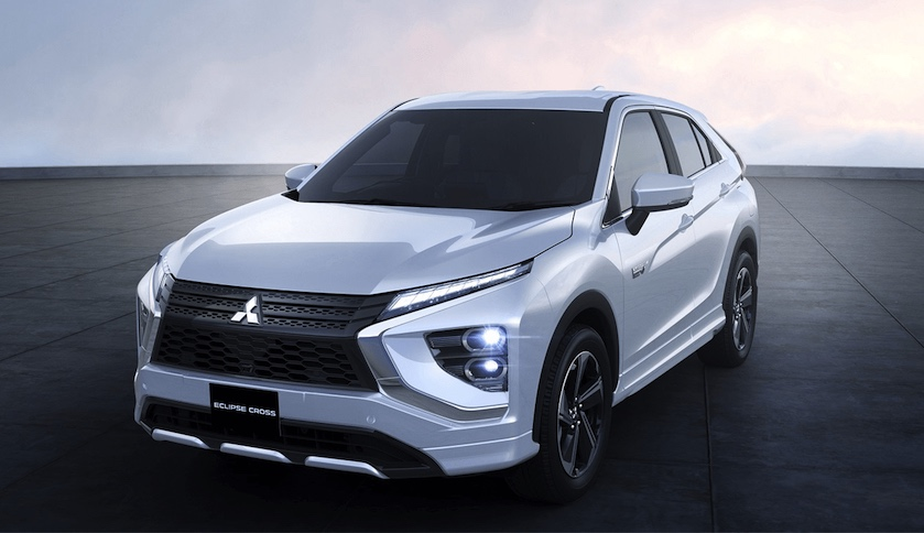 restyling Mitsubishi Eclipse Cross 2021