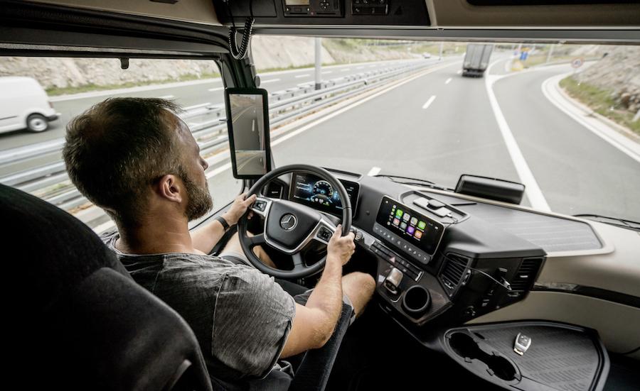 camion a guida autonoma di Livello 4