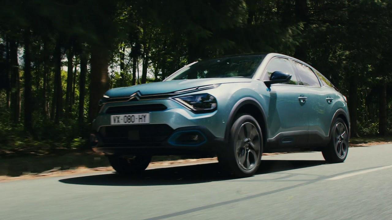 La nuova Citroën e-C4