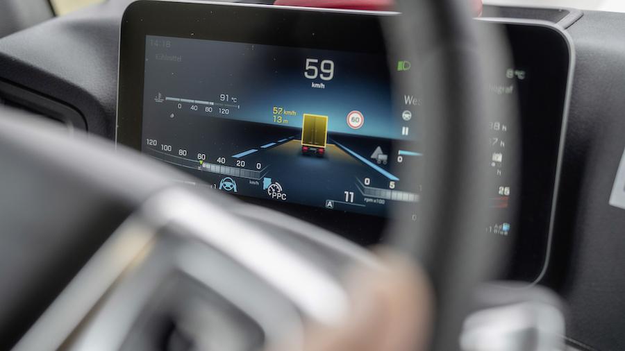 Daimler tecnologia camion