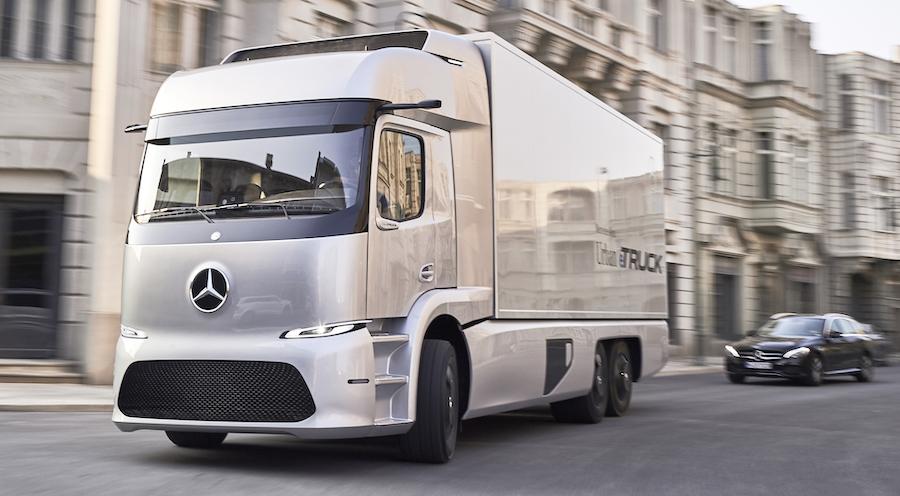 Daimler e Volvo truck fuel cell