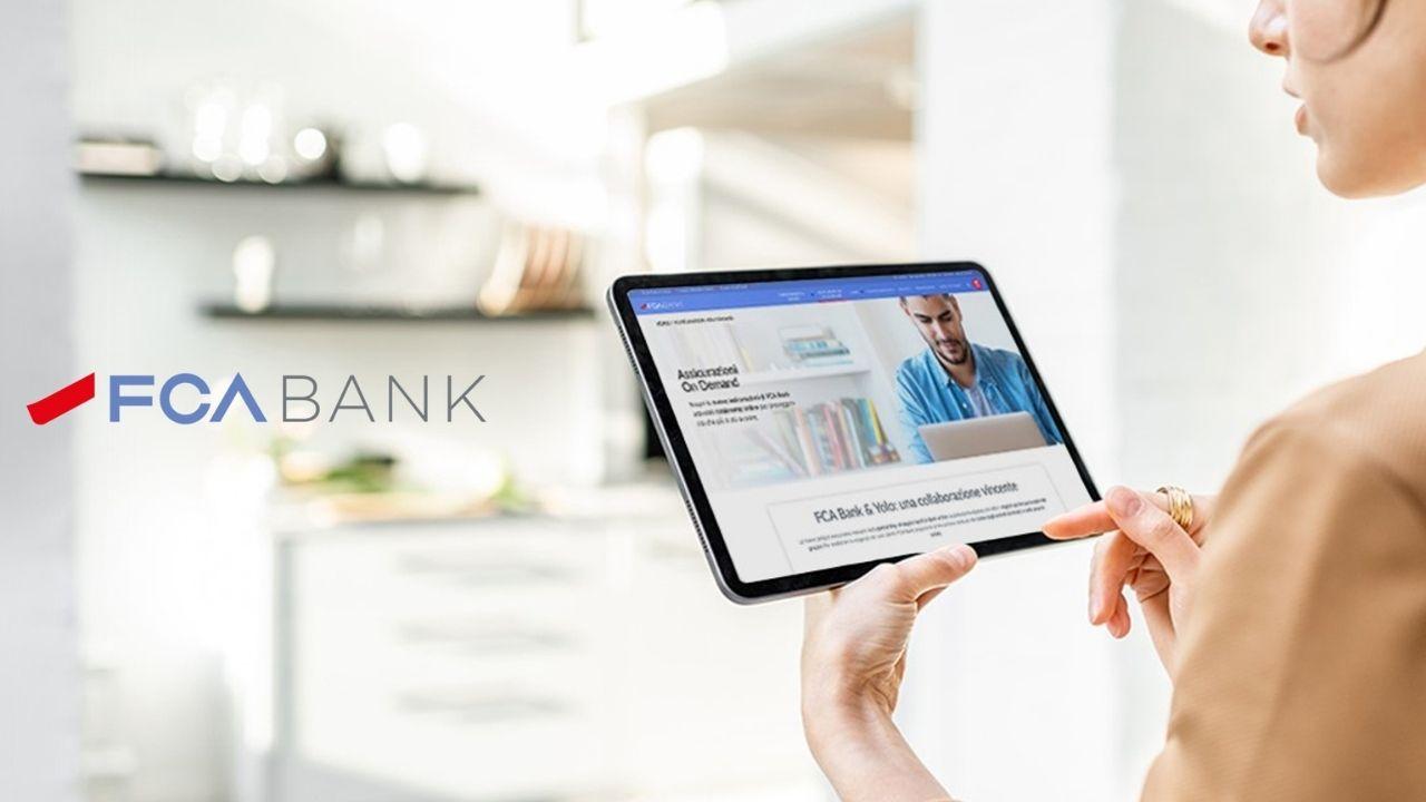 La nuova piattaforma digitale di FCA Bank