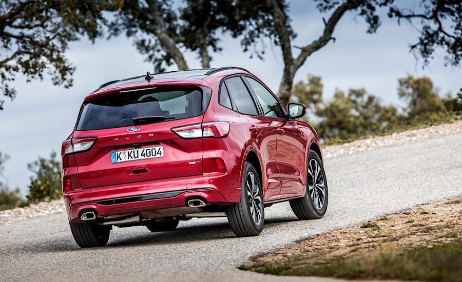 Ford Kuga Fuul Hybrid dinamica