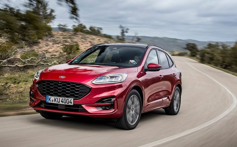 Ford Kuga Fuul Hybrid frontale