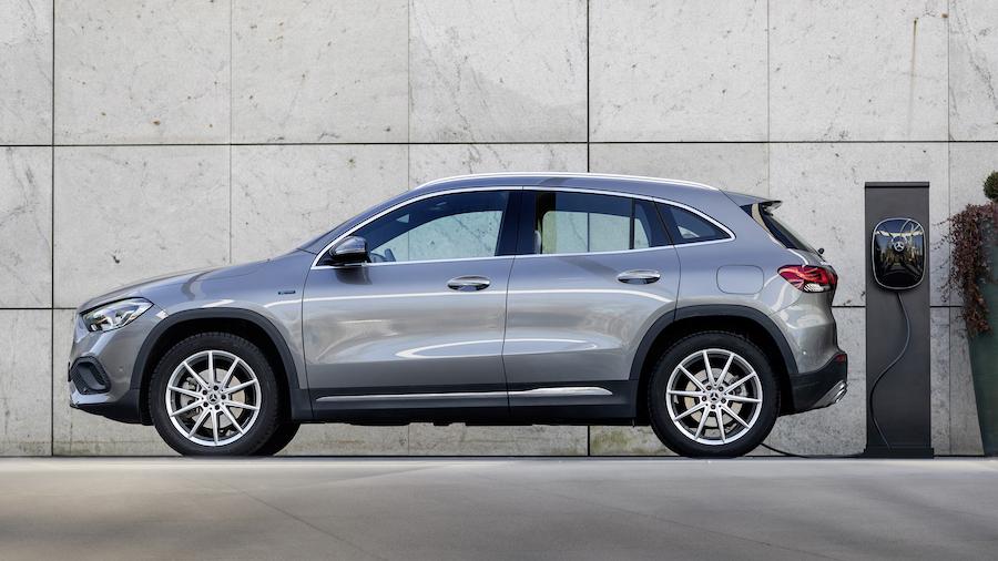 Mercedes GLA EQ Power a noleggio