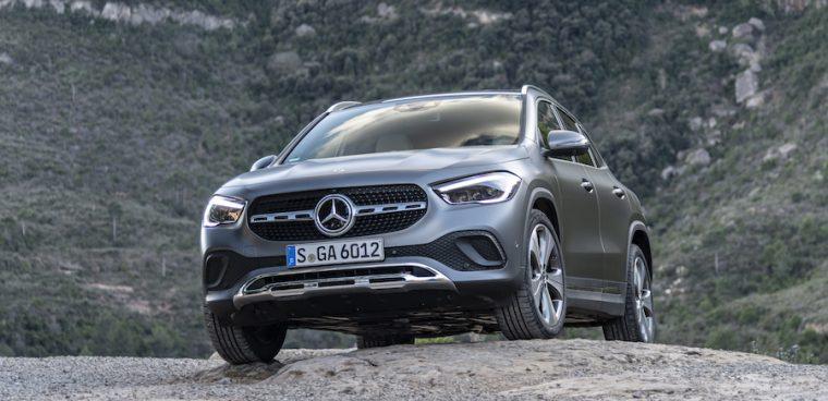 Mercedes GLA ibrida plug-in