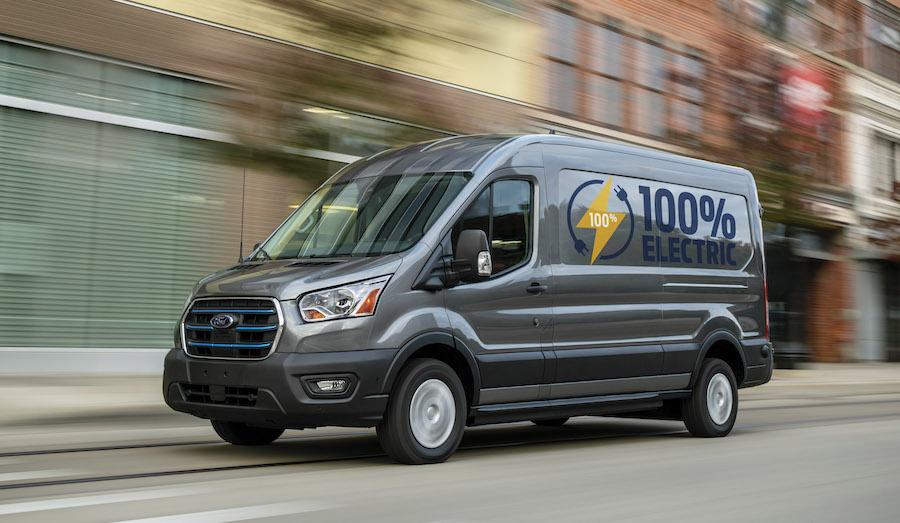 Nuovo Ford E-Transit 2022