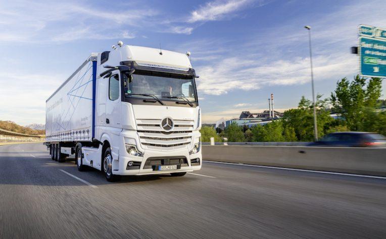 camion Daimler a fuel cell