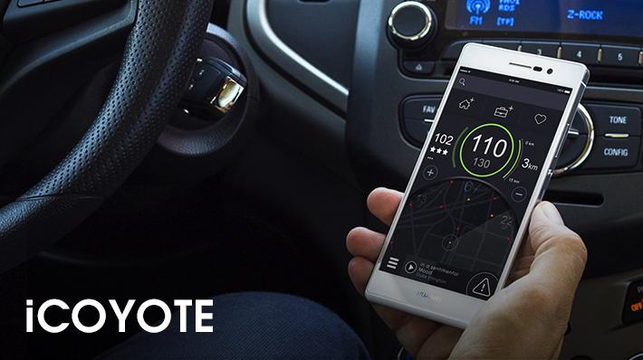 L'applicazione di Coyote fornisce info in tempo reale