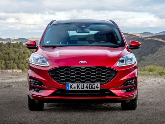 frontale nuova Ford Kuga
