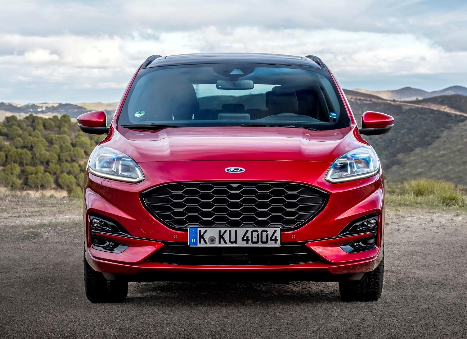 nuova Ford Kuga frontale