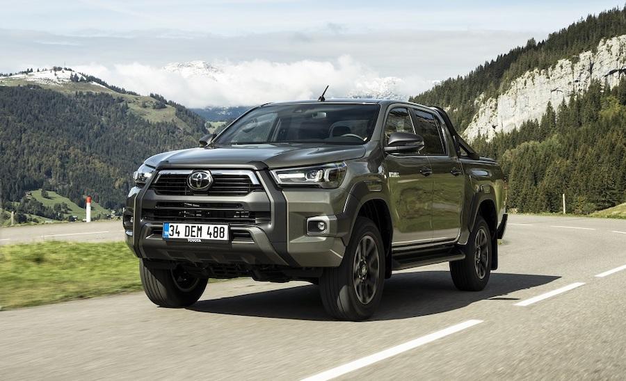 nuova Toyota Hilux pick up 2021 diesel