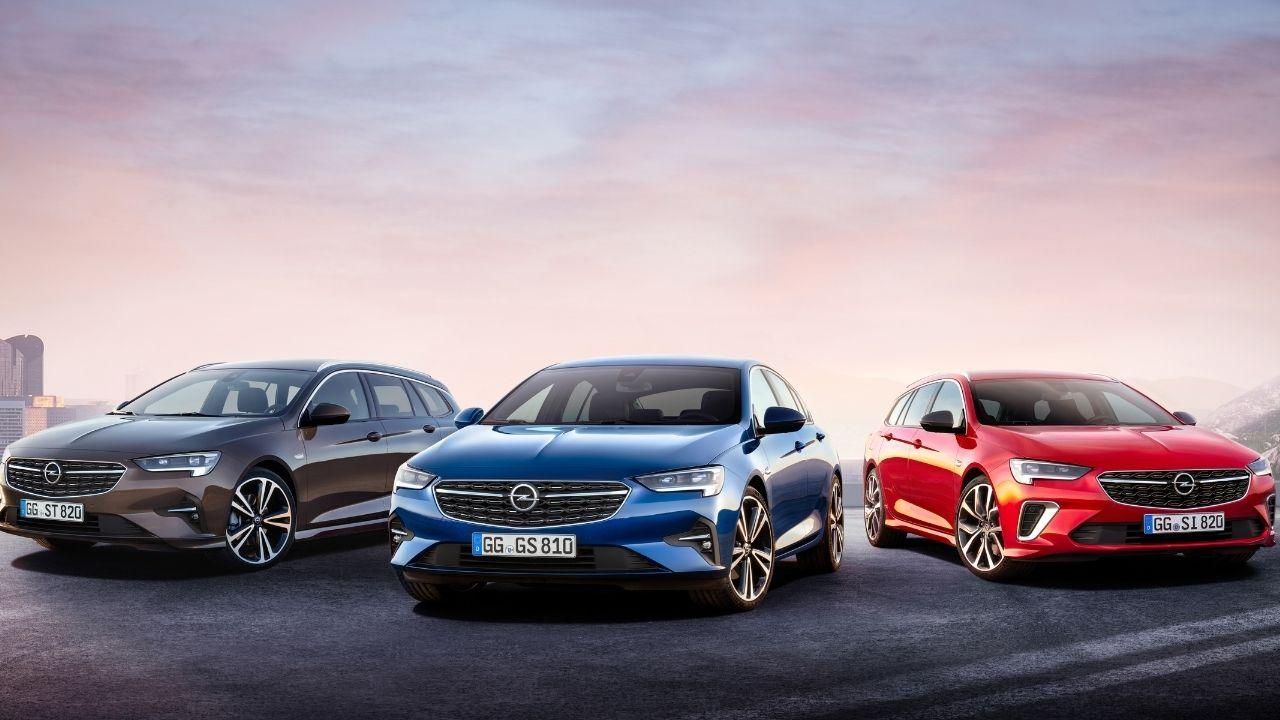 Gamma Opel Insignia GSi