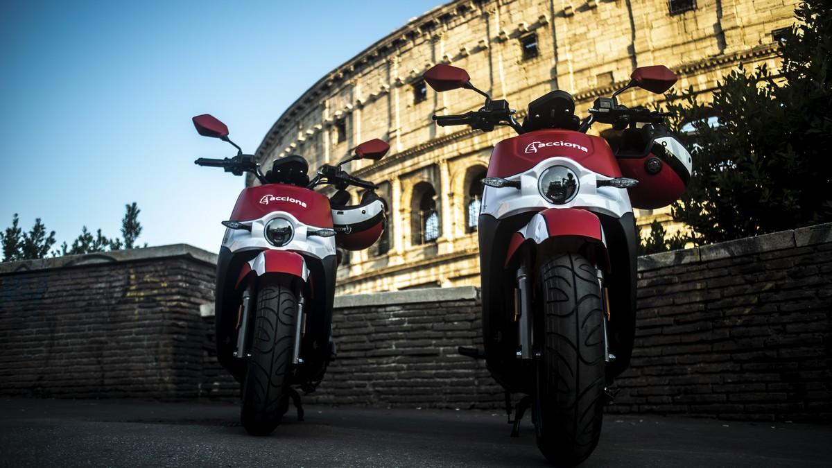 Sharing Mobility a Roma: gli scooter di Acciona