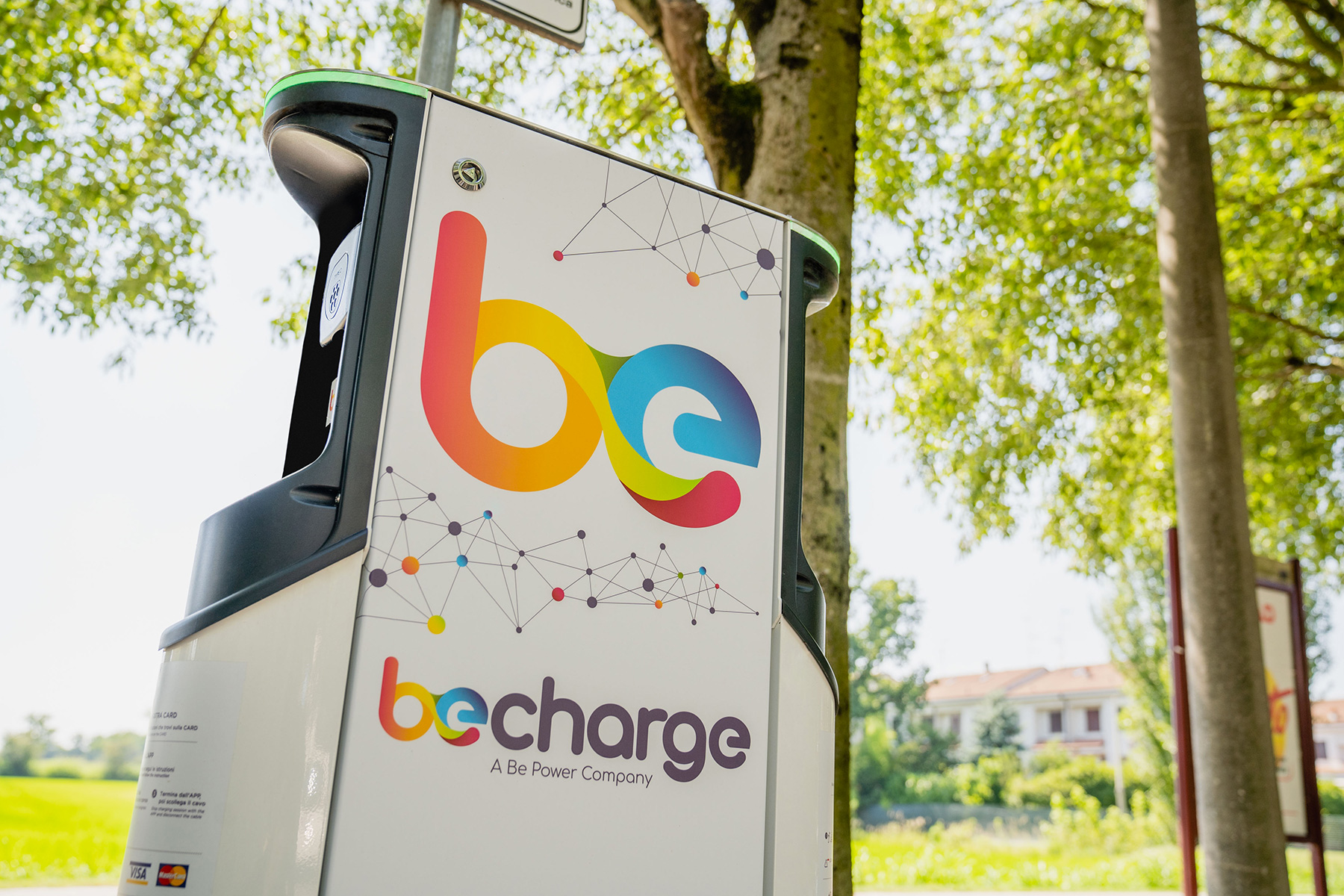 Le colonnine di Be Charge