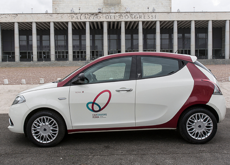 Sharing Mobility a Roma: il Car Sharing di Roma Mobilità