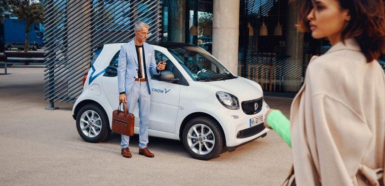 Car sharing Roma annullato canone per operatori