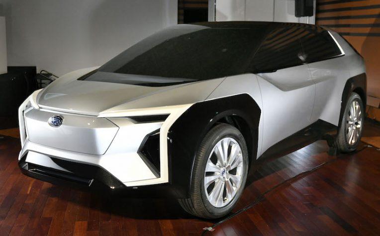 Concept Subaru suv elettrico 2021
