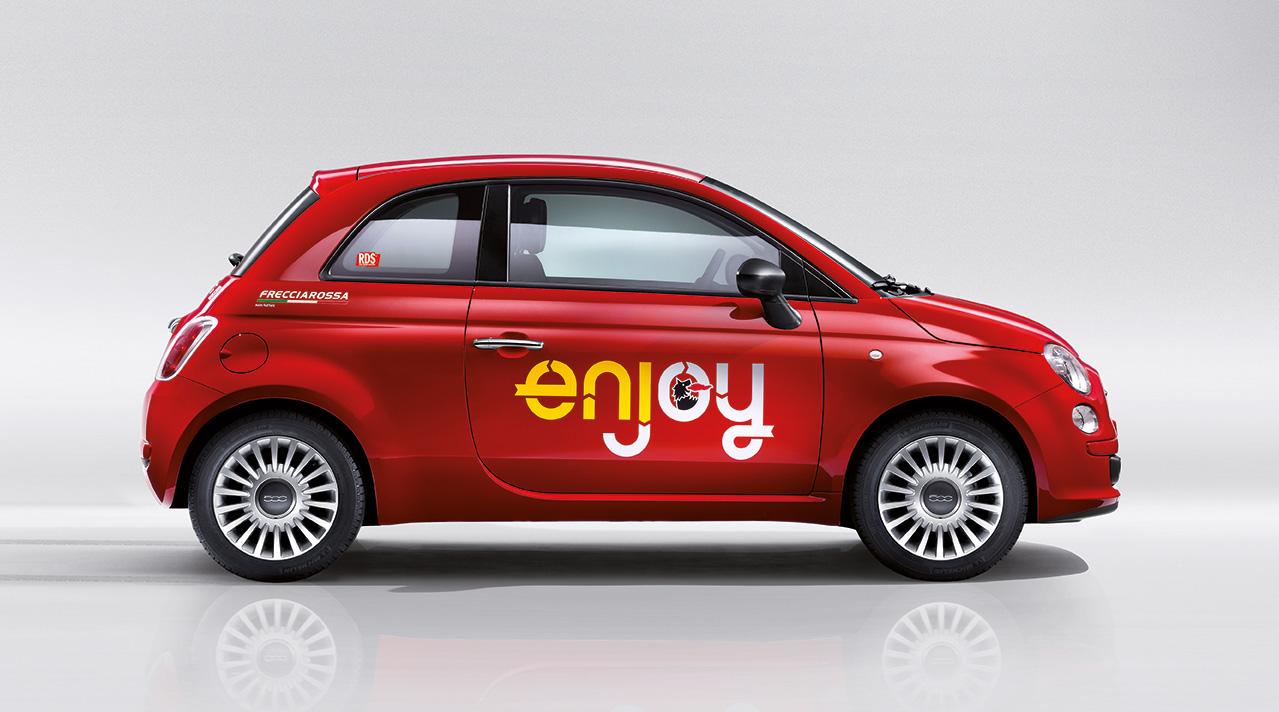 Sharing Mobility Torino: il car sharing di Enjoy