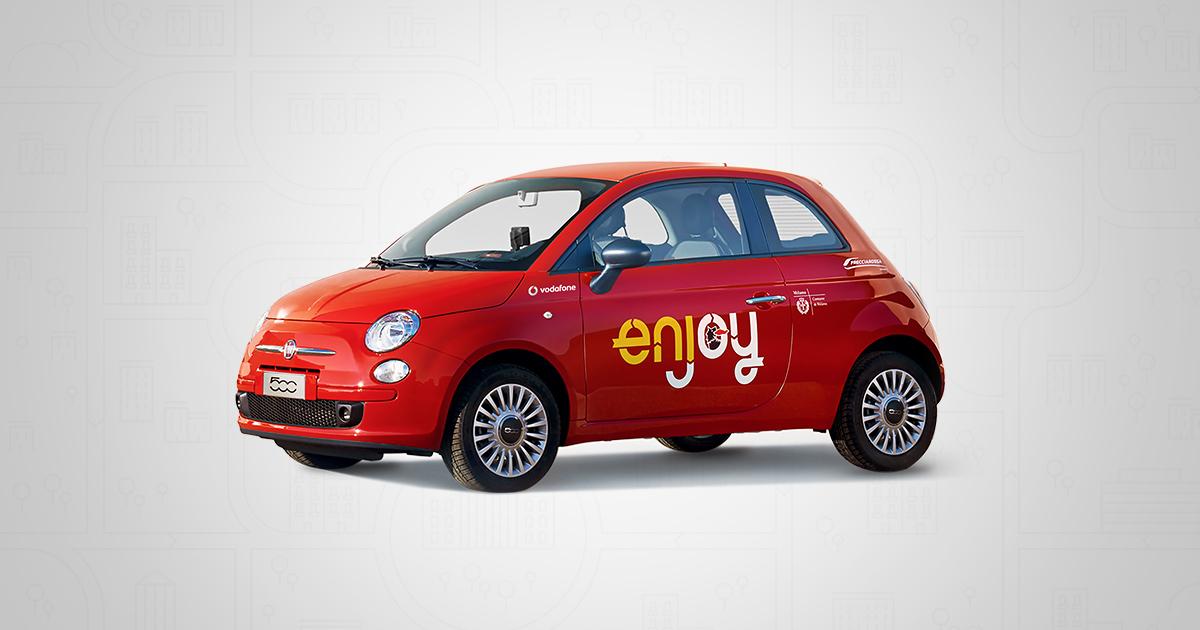 Sharing Mobility a Roma: il Car Sharing di Enjoy