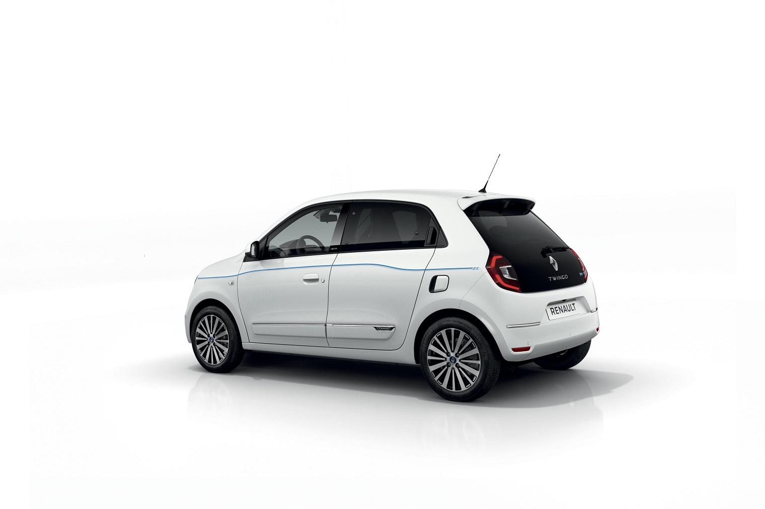esterni nuova Renault Twingo elettrica