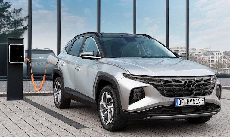 Hyundai Tucson ibrida plug-in
