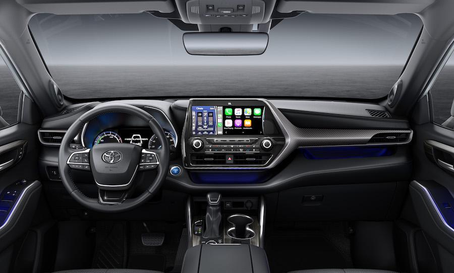 Infotainment Toyota Highlander Hybrid