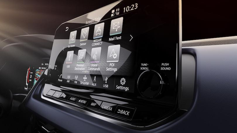Infotainment di nuova Nissan Qashqai 2021
