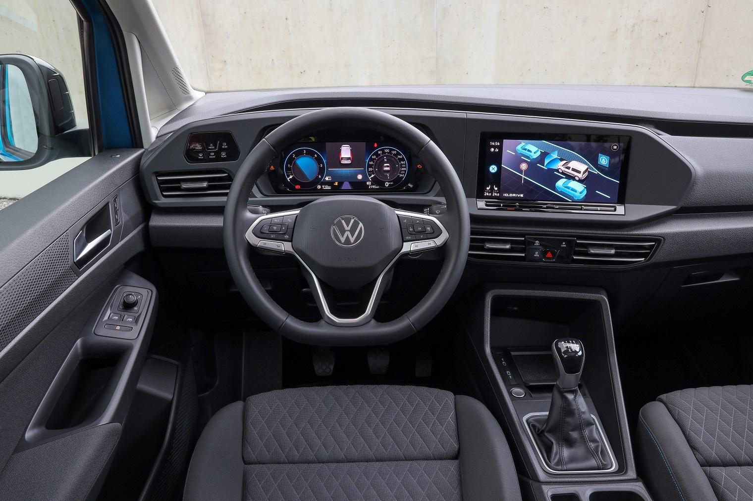 Interni nuovo Volkswagen Caddy