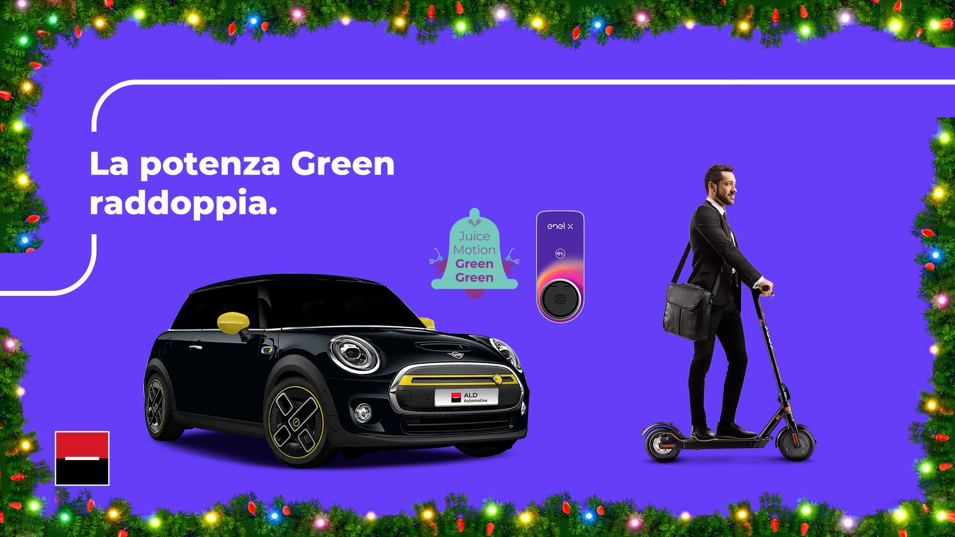 La nuova promo JuiceMotion Green Green di ALD