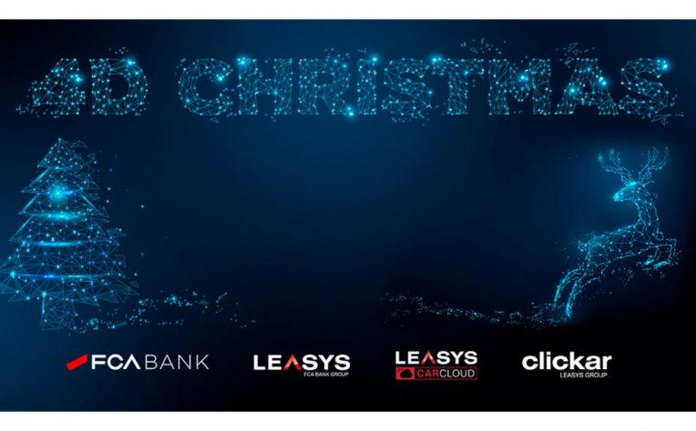 La promo 4D Christmas di Leays e FCA Bank