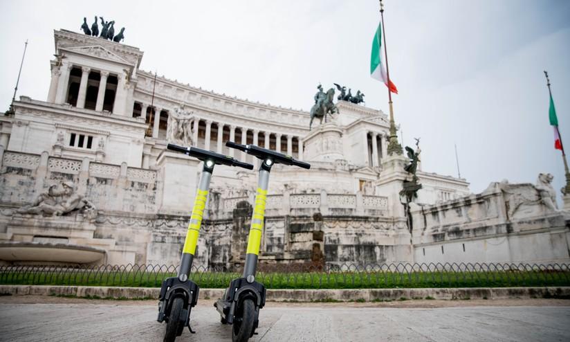 Sharing mobility a Roma: i monopattini di Link